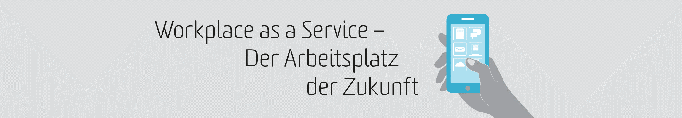 Slider für Workplace as a Service