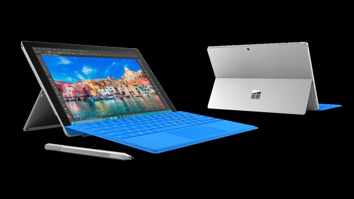 Bild von einem Microsoft Surface Pro 4