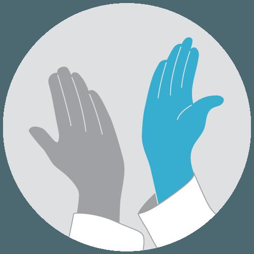 Zwei Hände geben sich ein High Five