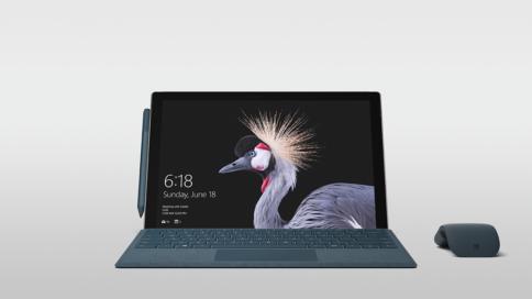 Surface Pro Originalansicht für Workplace as a Service