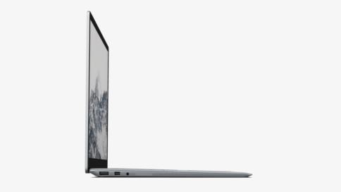 Surface Laptop von der Seite