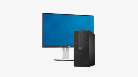Dell Optiplex mit Monitor